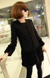 mycntaobao-Новый плюшевый Женское пальто был тонкий